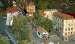 Funiculaire de Besançon, maquette HO de RM25