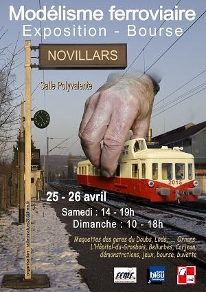 Exposition - bourse de modélisme ferroviaire de Novillars
