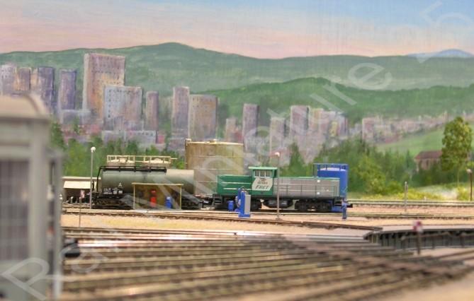Bellurbes à l'exposition - bourse de modélisme ferroviaire de Novillars